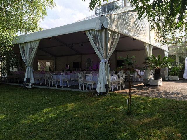 Сватба в ботаническата градина 80 гости