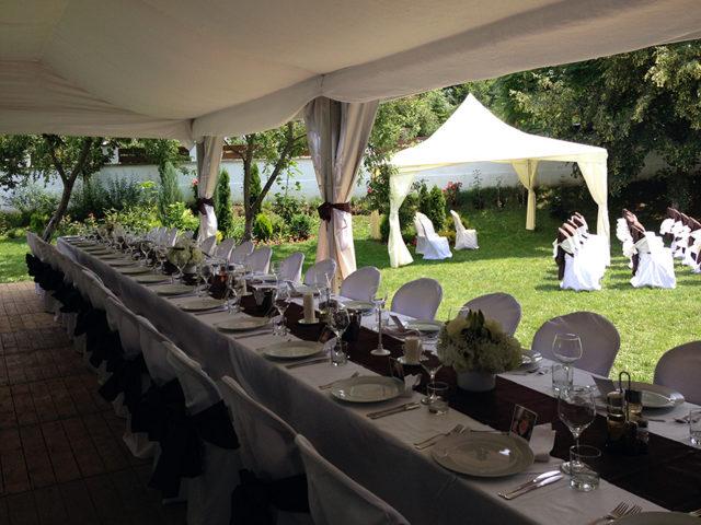 Градинска сватба в село Рибарица 140 гости