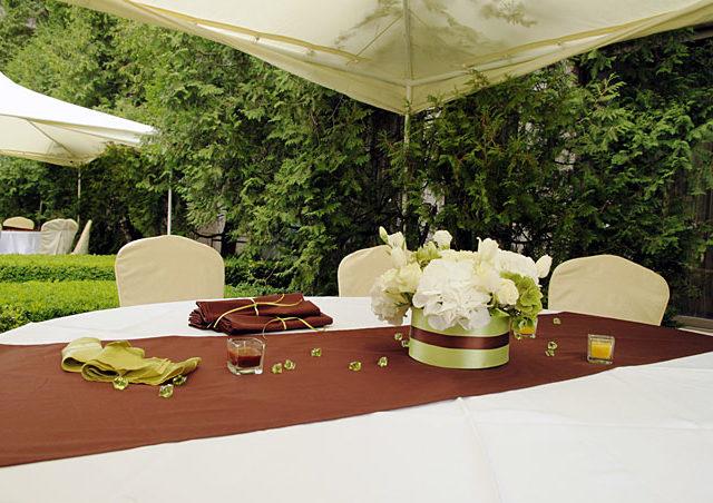 Градинска сватба в Бояна
