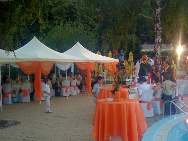 Сватба на басейн Корали