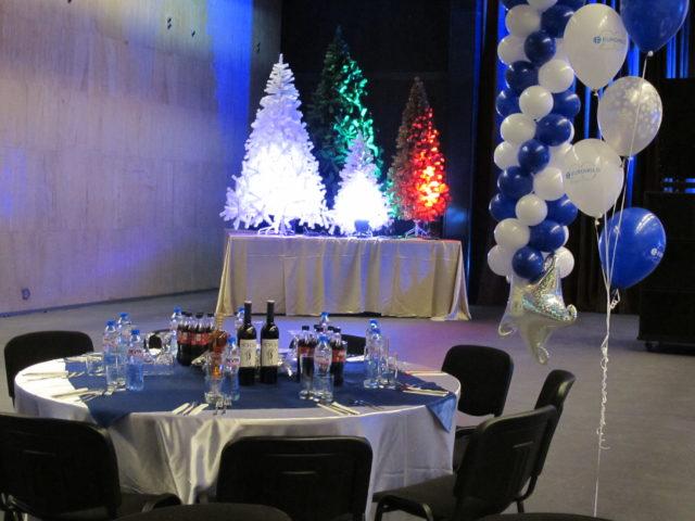 Юбилейно коледно парти на Еврохолд 700 гости