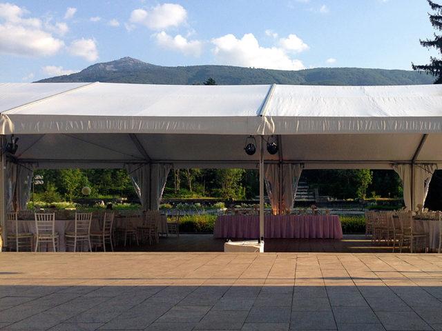 Сватба в НИМ Бояна 150 гости