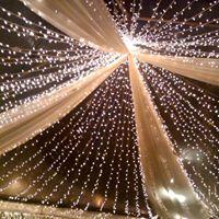 """Осветление ,,Звездно небе"""". 100 лампички в квадратен метър – RGB ; цена за кв.метър"""