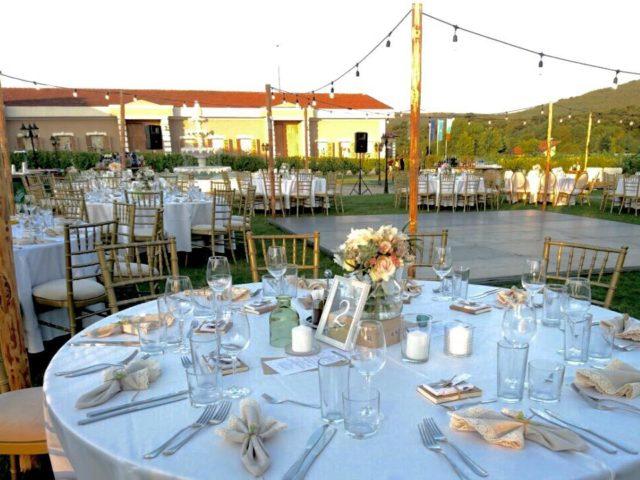 Сватба в шато Мидалидаре 150 гости