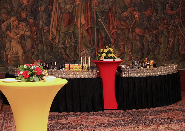 Коктейл след връчването на награди Аскеер в ЦВК
